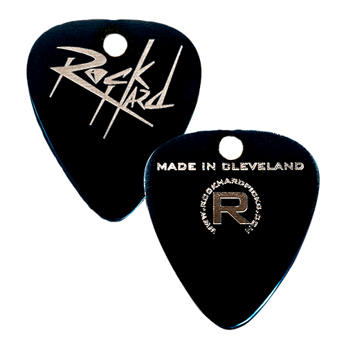 Standard Right Necklace Stealth Guitar Pick