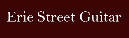 Erie Street Guitars Website