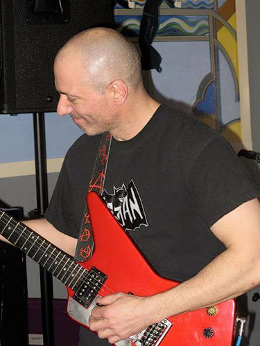 Jerry Mearnin Playing Guitar