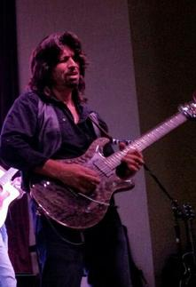 Tony Artino Playing Guitar
